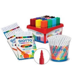 Rotulador Giotto Turbo Color Colores 144Ud