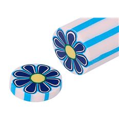 Barra claycolor 14g diseño flor azul - BARRAS-CLAYCOLOR-FLOR-5702223