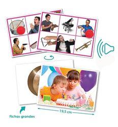 Bingo sonido acciones e instrumentos musicales - 29020622