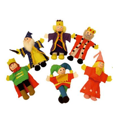 Marionetas de dedo realeza - MARIONETA-REALEZA-879704
