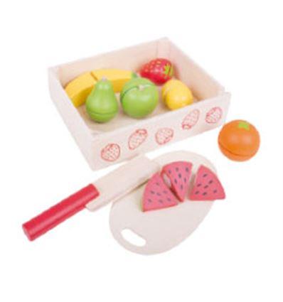 Cesta de frutas para cortar - FRUTAS-879472