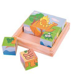 Cubic puzzle - dinosaurios - CUBIC-DINOSAURIO-879513
