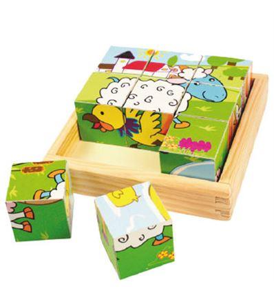Cubic puzzle - granja - CUBIC-GRANJA-879536
