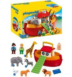 Playmobil 1-2-3 maletin arca de noe - PLAYMOBIL-1-2-3-ARCA DE NOE-8696765