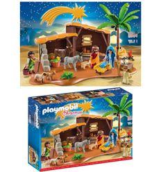 Playmobil belen con establo - PLAYMOBIL-BELEN-CON-ESTABLO-8695588