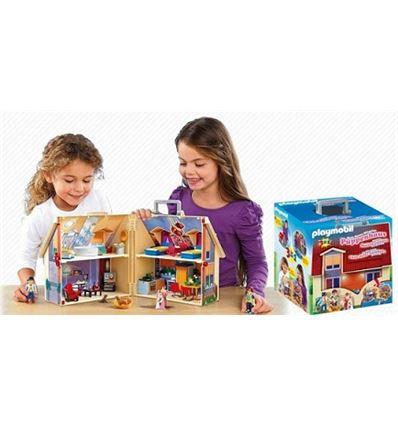 Playmobil casa muñecas maletin - PLAYMOBIL-CASA-MUNECAS-MALETIN-8695167