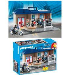 Playmobil comisaria maletin - PLAYMOBIL-COMISARIA-MALETIN-8695299