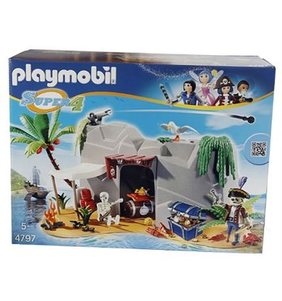 Playmobil cueva pirata - PLAYMOBIL-CUEVA-PIRATA-8694797