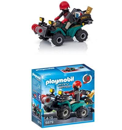 Playmobil ladron con quad y botin - PLAYMOBIL-LADRON-QUAD-8696879