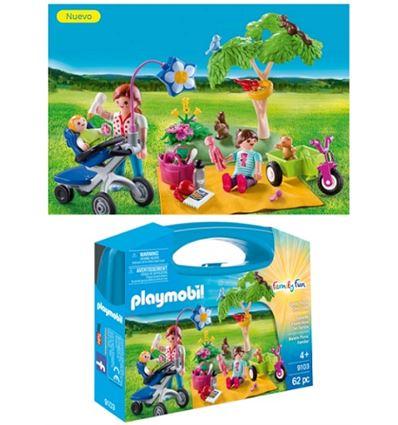 Playmobil maletin grande picnic familiar - PLAYMOBIL-MALETIN-PICNIC-FAMILIAR-8699103