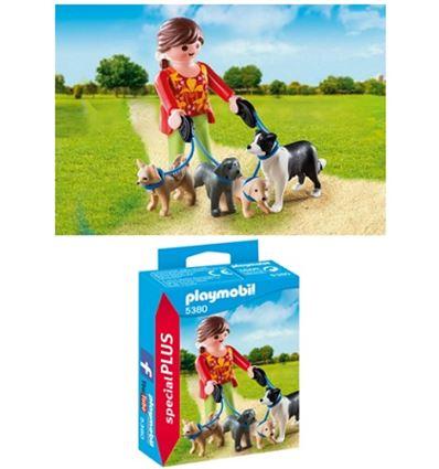 Playmobil mujer con perros - PLAYMOBIL-MUJER-PERROS-8695380