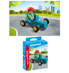 Playmobil niño con kart - PLAYMOBIL-NIÑO-CON-KART-8695382