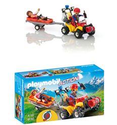 Playmobil quad de rescate de montaña - PLAYMOBIL-QUAD-RESCATE-MONTANA-8699130
