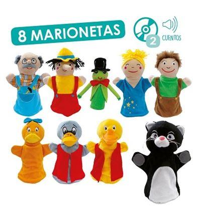 MARIONETAS APRENDER A CONVIVIR + CD - MARIONETAS-PINOCHO-PATITO-FEO