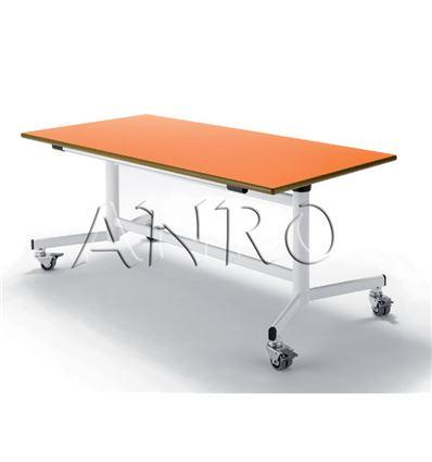 Mesa plegable c/ruedas 120 x 60cm alt.54cm - 2403921