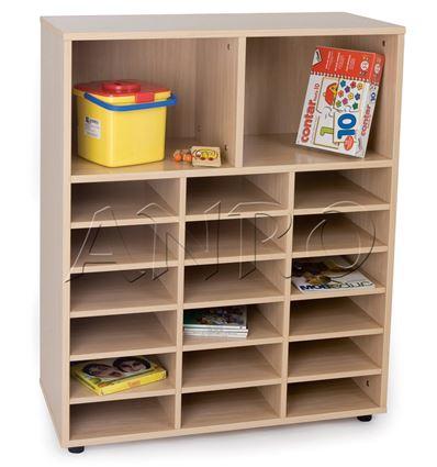 Mueble junior casillero y 2 casillas - 4951016