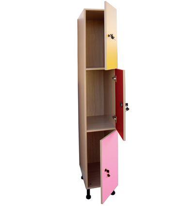 Mueble taquilla 3 puertas ancho 30cm - 4951088