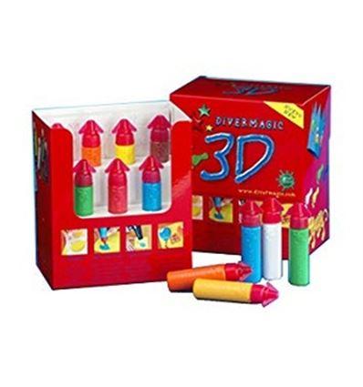 Divermagic 3d 7 colores 200ml aumenta volumen - 447903