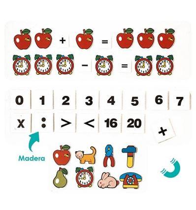 Juego magnetico matematicas: la manzana - 29052456
