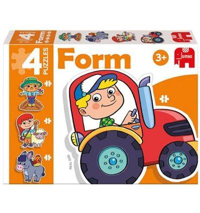 Puzzle form granja - 40069949