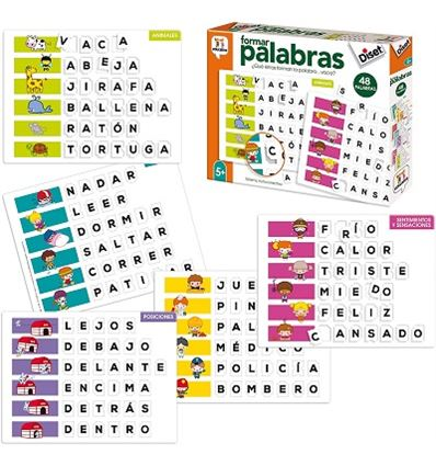 FORMAR PALABRAS - FORMAR-PALABRAS-40068952