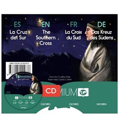 """CUENTO KAMISHIBAI A3 """"LA CRUZ DEL SUR"""" + CD - CRUZ-SUR-75755676"""