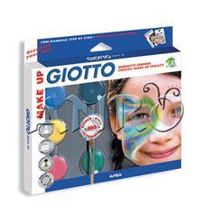 Sombra cosmetica giotto 6 colores basicos - 47458