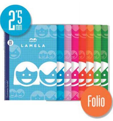 BLOC LAMELA Fº 2.5MM 80H - BLOC-LAMELA-8110002