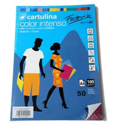 CARTULINA FABRISA A4 50H MORADO - 34748519