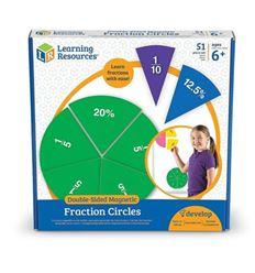 Circulos de fracciones magnéticos - 611616