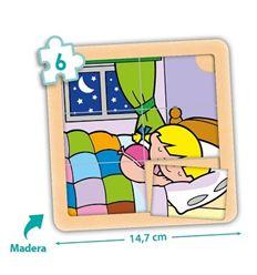 Pack 4 puzzles zaro y nita 6 pzas. - 29055066