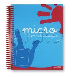 Agenda additio micro ed. infantil 13.5x16.5cm dia pag - 204A102