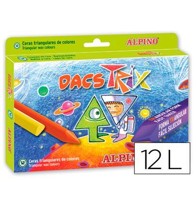 CERAS DACSTRIX 12 COLORES - 43261