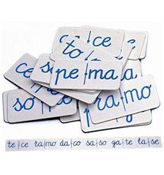 Domino silabico i - 3507400