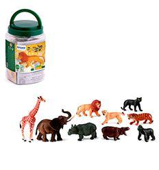 Animales de la selva 9 figuras - 16525119