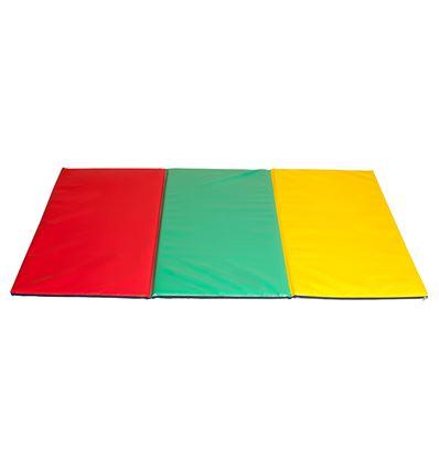 COLCHONETA PLEGABLE MULTICOLOR 3 COLORES - 370094F
