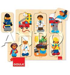 Puzzle profesiones - 45553070