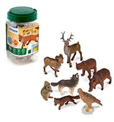 Animales bosque 8 pzas - 16525126