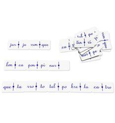 Domino silabico 2 - 3507401