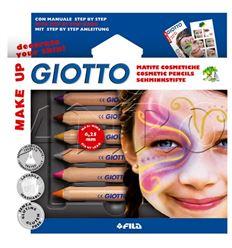 Lapiz cosmetico giotto 6 colores princesa - 1484708