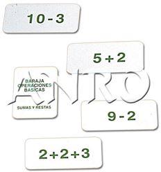 Baraja sumas y restas - 3508003