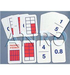 Baraja fracciones y nº decimales - 3508006