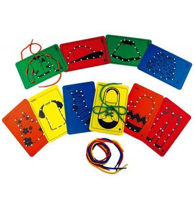 Ropa para hilar 10 tarjetas - 430740