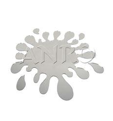 Espejo formas gota de agua - 280411754