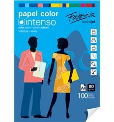 Papel fabrisa a4 80g 100h pack intensos ii