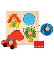 Puzzle color (4 pcs) - 45553015