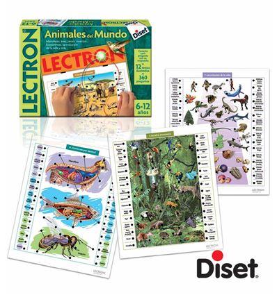 LECTRON ANIMALES DEL MUNDO - 40063810