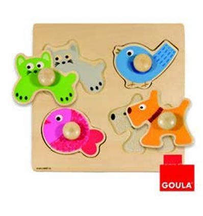 Puzzle animales domesticos - 45553116