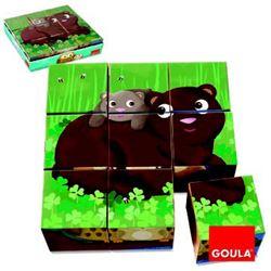 Cubic puzzle bosque - 45553419