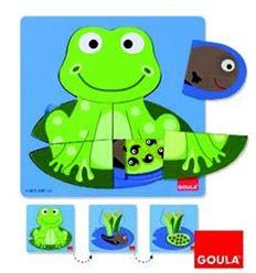 Puzzle 3 niveles rana - 45553122